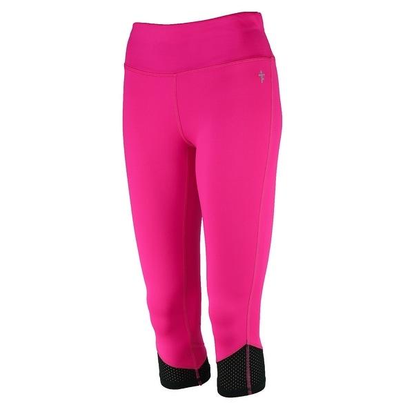 067aaef975b952 Shop Tru Fit Women's Fitness Capri Leggings - Free Shipping On Orders Over  $45 - Overstock - 27080005