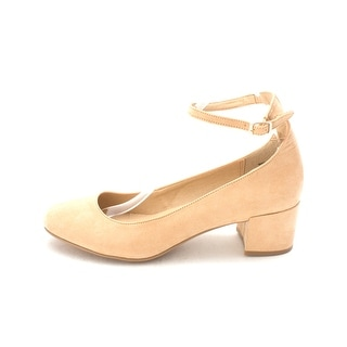Chinese Laundry Womens Mabel Closed Toe Ankle Strap Classic Sand Size 9.0