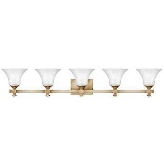 """Hinkley Lighting 5855 5 Light 43.75"""" Width Bathroom Vanity Light from the Abbie Collection (2 options available)"""