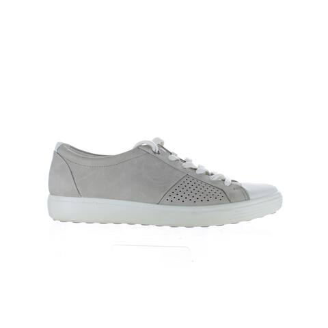 ECCO Womens Soft 7 Gray Fashion Sneaker EUR 41