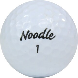 100 TaylorMade Noodle Mix - Near Mint (AAAA) Grade - Recycled (Used) Golf Balls