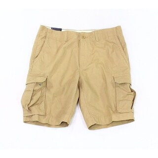 Tommy Hilfiger NEW Beige Men's Size 32 Classic Cargo Chino Shorts