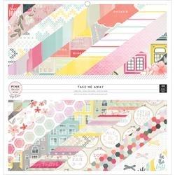 American Craft Pk Paislee Take Me Away Collection Paige Kit Phrase