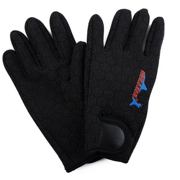 DIVE & SAIL Authorized Diving Sports Hexagonal Pattern Anti-slip Gloves Pair