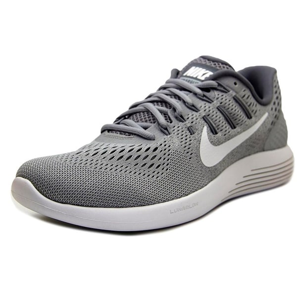 new arrival 50a57 dba11 Shop Nike Lunarglide 8 Women Round Toe Synthetic Gray ...