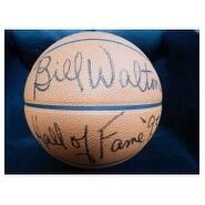 Signed Walton Bill Spalding IndoorOutdoor Basketball autographed