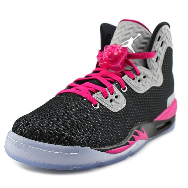 Jordan Air Spike Forty PE Youth Round Toe Synthetic Multi Color Basketball Shoe