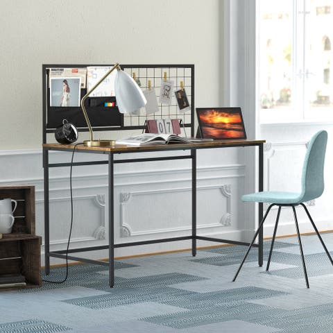 TiramisuBest Home Office Competer Desk with Cloth Bag