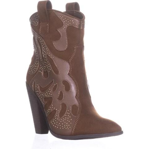 Carlos by Carlos Santana Sterling Cowboy Boots, Bourbon