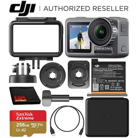 DJI Osmo Action 4K Camera with 256GB Bundle with SanDisk Extreme 256GB