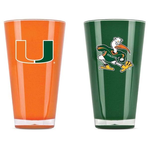 Miami Hurricanes Tumblers - Set of 2 (20 oz)