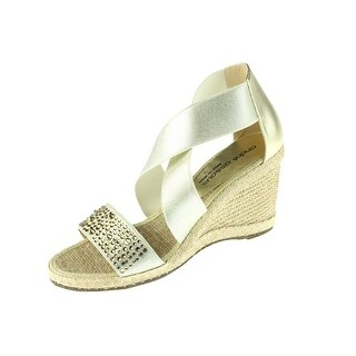 Andre Assous Womens Dalton Wedge Sandals Studded Rhinestone