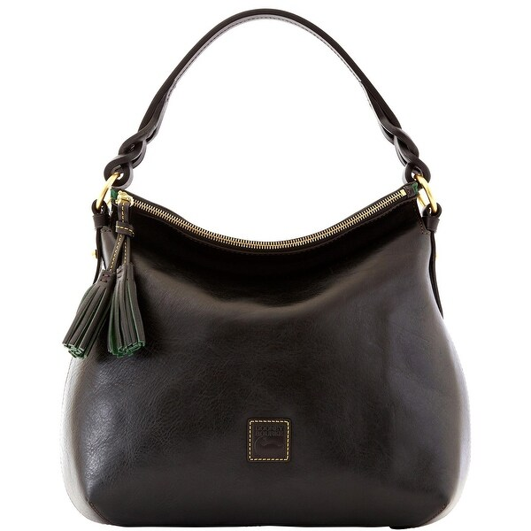 Dooney & Bourke Florentine Twist Strap Hobo (Introduced by Dooney & Bourke at $298 in Nov 2012) - Black Black
