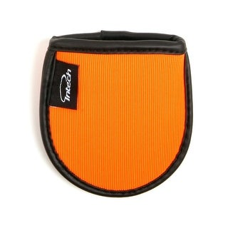 Intech Squeaky Clean Pocket Golf Ball Washer, Orange