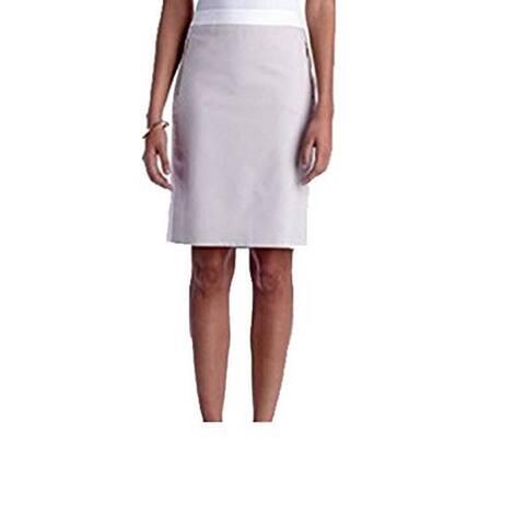 Jones New York Women's Tonal Tux Lucy Skirt, Oyster, 8 - Oyster