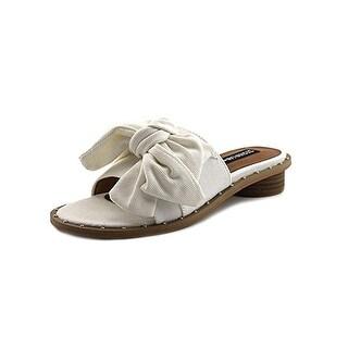 Design Lab Womens Rio Slide Sandals Flats Studded