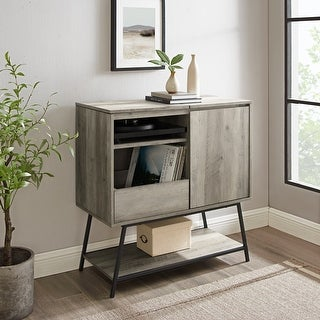 Link to Carson Carrington Record Player Accent Cabinet Similar Items in Bookshelves
