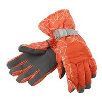 Outdoor Cycling Biking Snowmobile Snowboard Ski Gloves Athletic Mittens Orange S