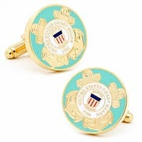 US Coast Guard Enamel Cufflinks  Military