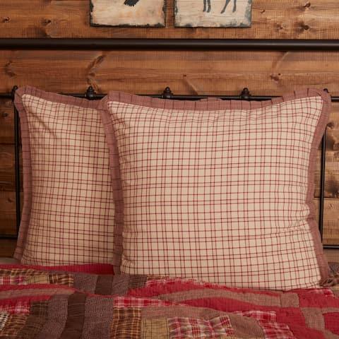 Tacoma Euro Sham Fabric Ruffled 26x26