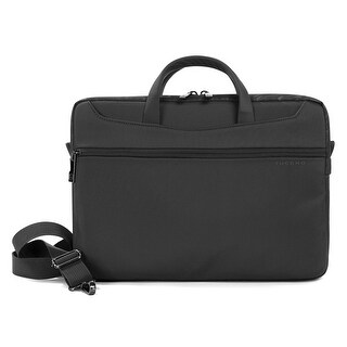 Tucano Work_Out II Slim Water Resistant Laptop Bag with Anti-Shock System and Tablet Compartment for Macbooks up to 13""