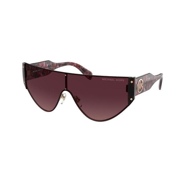 Michael Kors MK1080 11088H 36 Rose Gold Woman Irregular Sunglasses. Opens flyout.