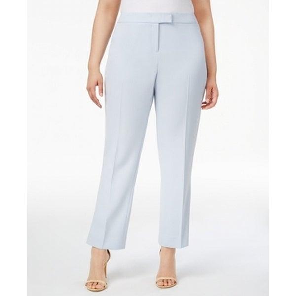 Shop Anne Klein New Harbor Blue Women Size 20w Plus