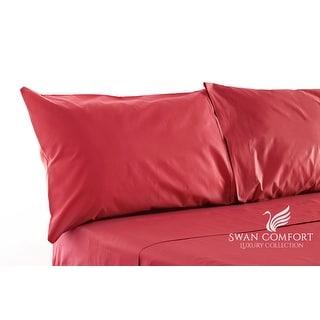 Swan Comfort Luxury Wrinkle & Fade Resistant Pillowcases ( Set of 2 )