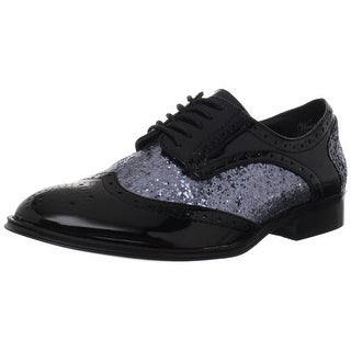 Wanted Shoes Women's Mallory Oxford - Black/Pewter