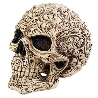 Design Toscano Halloween  Skull's Soul Spirit Sculptural Box