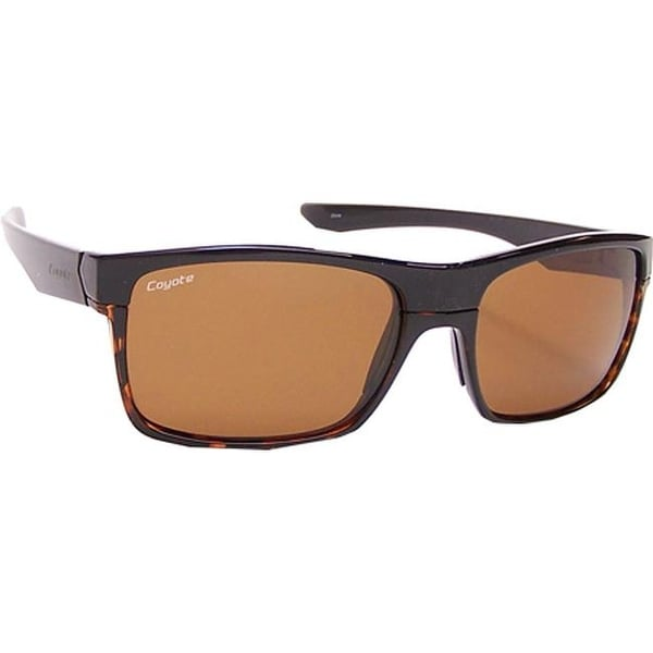 80d60988e01 Shop Coyote Eyewear Twist High Performance Sport Sunglasses  Black Tortoise Brown - US One Size (Size None) - On Sale - Free Shipping  Today - Overstock - ...