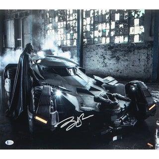 Ben Affleck Batman With Batmobile 16x20 Photo