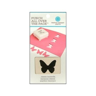 Martha Stewart Punch All Over The Page Butterfly