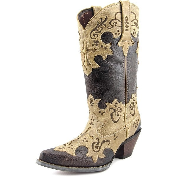 Durango DCRD138 Women Pointed Toe Leather Western Boot