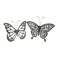 Shop Studio 350 Metal Acrylic Butterfly 22 inches wide, 18