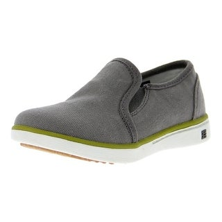 Bogs Outdoor Shoes Girls Youth Malibu Canvas Upper Slip On
