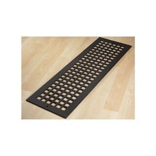"Reggio Registers G826-SH Grid Series 24"" x 6"" Grille with Mounting Holes - N/A"
