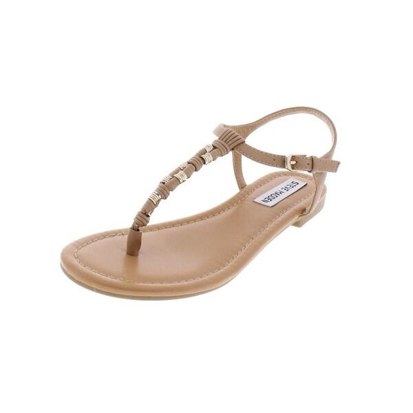 f37fd56ed831 Shop Steve Madden Womens Flat Sandals Embellished Thong - 6 medium ...