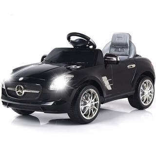 Link to Costway BLACK MERCEDES BENZ SLS R/C MP3 KIDS RIDE ON CAR ELECTRIC Similar Items in Bicycles, Ride-On Toys & Scooters