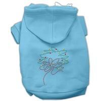 Christmas Wreath Hoodie Baby Blue S (10)