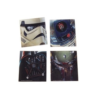 Star Wars 4pc. Glass Coaster Set