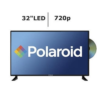 32 in. LED & DVD High-Definition TV with 720p, 60 Hz,