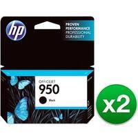 HP 950 Black Original Ink Cartridge (CN049AN)(2-Pack)