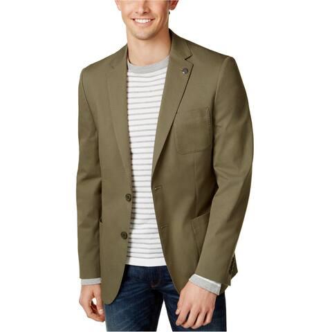 Michael Kors Mens Stretch Two Button Blazer Jacket - 38 Regular