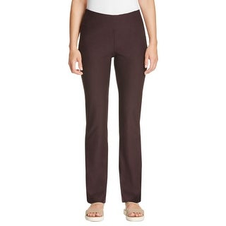 Eileen Fisher Womens Bootcut Pants Crepe Stretch