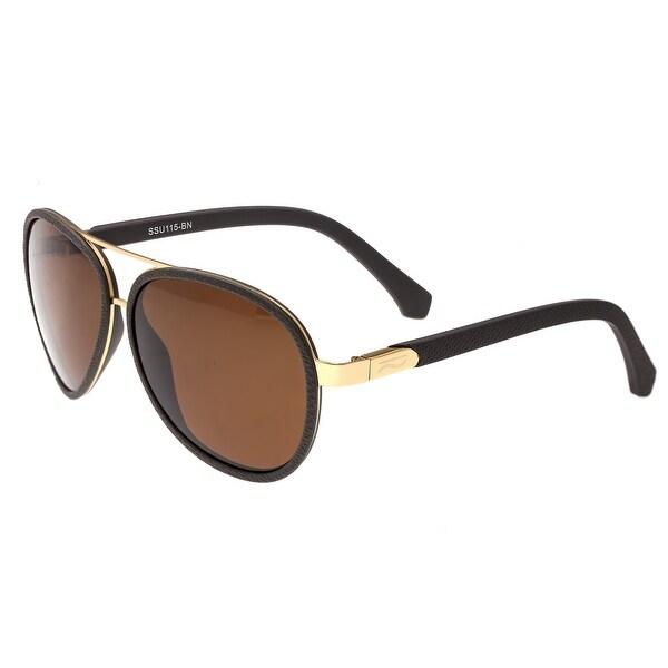 d31db2ba1f Simplify Stanford Unisex Metal Sunglasses - 100% UVA UVB Prorection -  Polarized Lens -