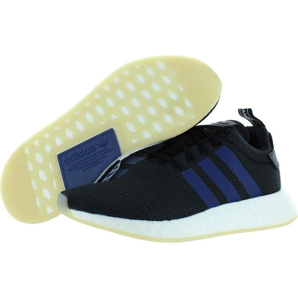 Adidas Womens NMD R2 W Sneakers Fitness Gym - Black/Navy Blue/White