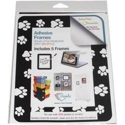 Pet Paw -Adhesive Frames 5/Pk