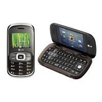 LG Octane VN530 Replica Dummy Phone / Toy Phone (Silver & Brown) (Bulk Packaging