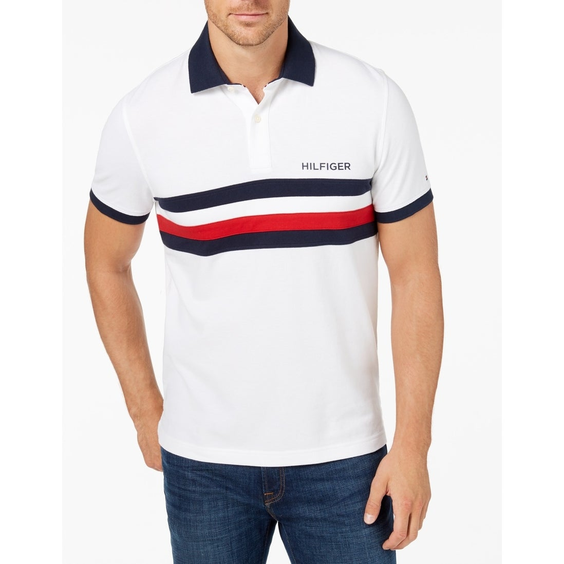 91dd0bd881 Tommy Hilfiger Shirts | Find Great Men's Clothing Deals Shopping at  Overstock